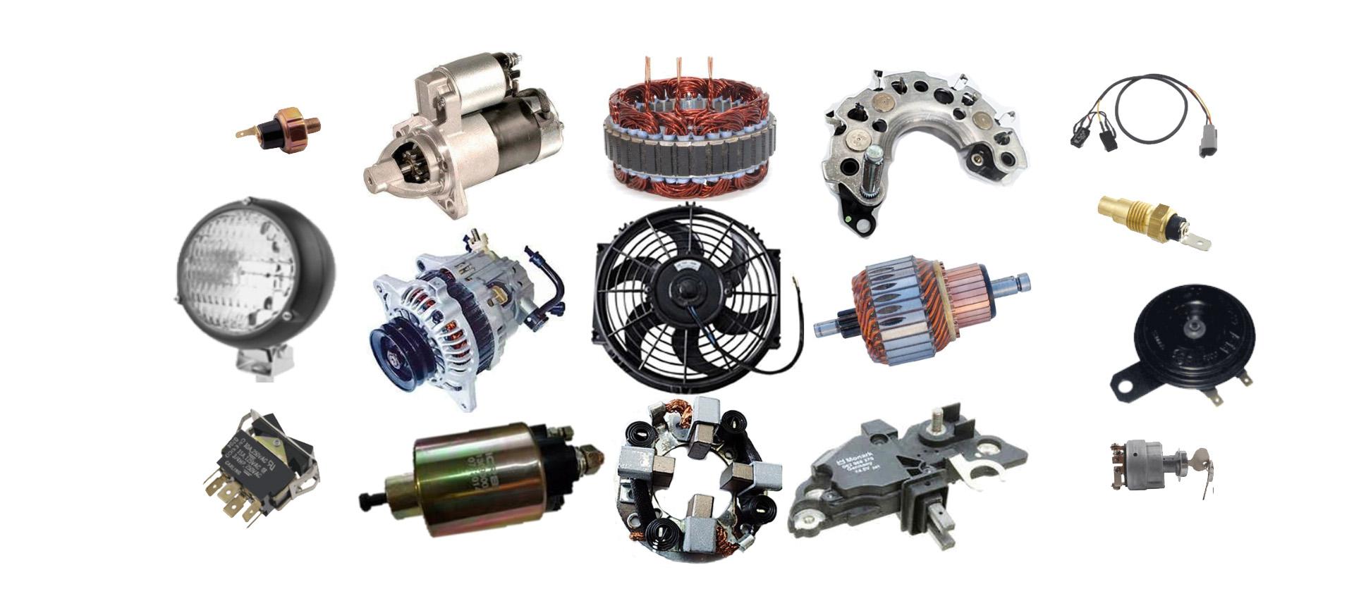 Partes para auto electrico